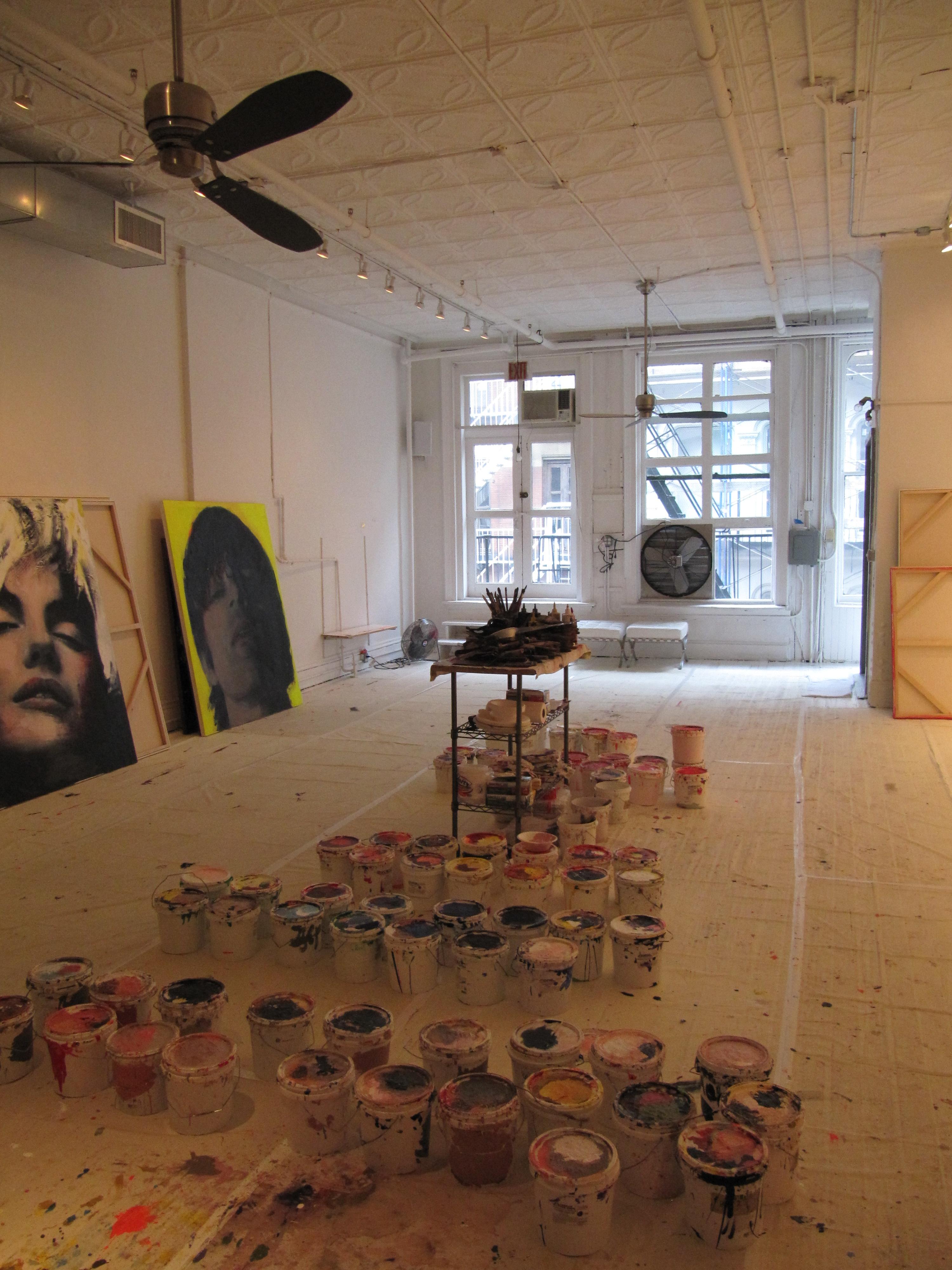 Artist Corno Soho NYC Studio