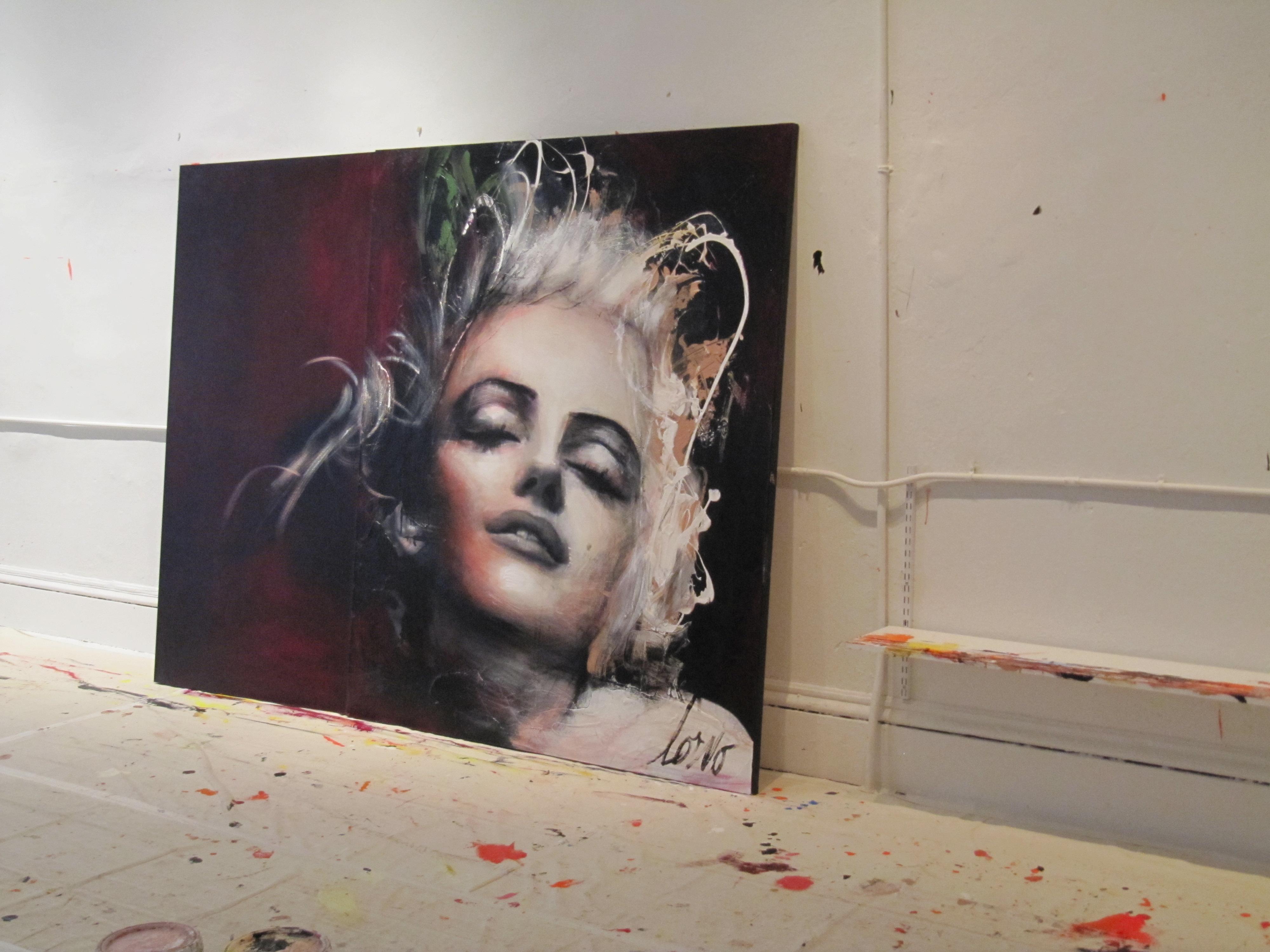 Artist Corno Soho NYC Painting